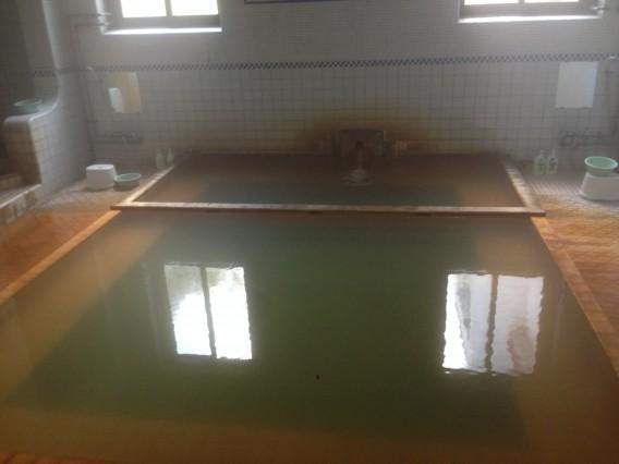 鯉川温泉、浴室